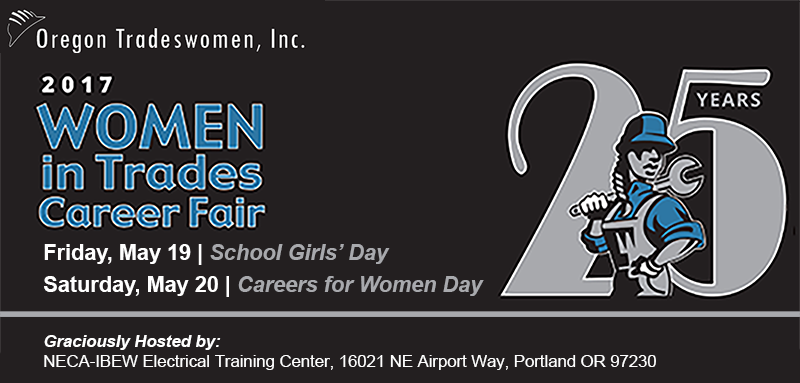 Oregon Tradeswomen's 25th Women in Trades Career Fair